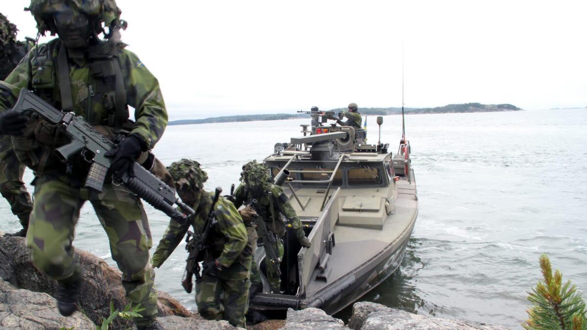 Amfibiesoldat Försvarsmakten